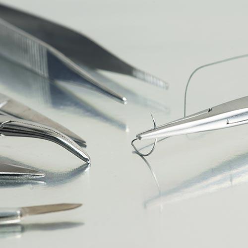 Agujas de sutura & porta Agujas